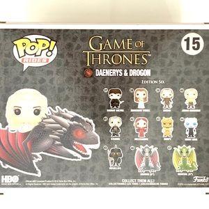 New! GoT Drogon & Daenerys Targaryen Funko Pop!
